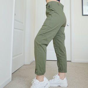 Vanilla Star  army green cargo pants